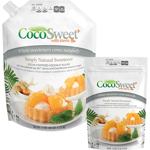 CocoSweet+ | Stevia Infused Coconut Palm Sugar