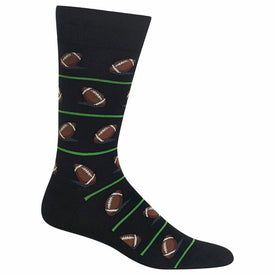 Football Funny Sports Mens Novelty Crew Socks