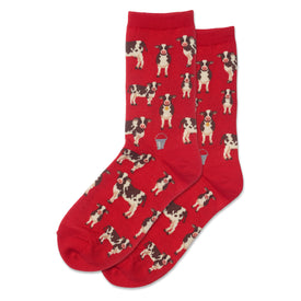 Cow Herd Funny Farm Animals Womens Novelty Crew Socks