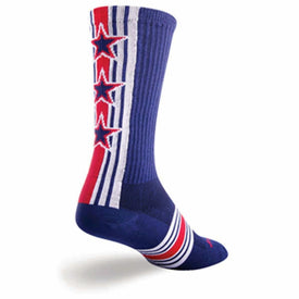 Derby Funny USA Mens Novelty Crew Socks