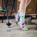 Bring Your Wine To Work Day - Sockologie