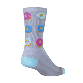 Glazed Funny Junk Food Mens Novelty Crew Socks