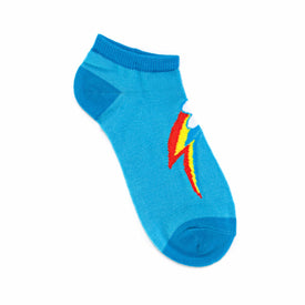 My Little Pony Rainbow Cutie Mark Funny Pop Culture Womens Novelty Ankle Socks