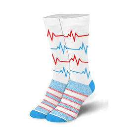 Pulse Funny Worklife Womens Novelty Crew Socks