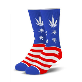 Legalize It Funny USA Unisex Novelty Crew Socks
