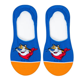 Frosted Flakes Tony the Tiger Funny Junk Food Womens Novelty Liner Socks