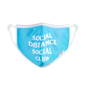 Social Distance Club Funny Words Unisex Novelty  Face Mask