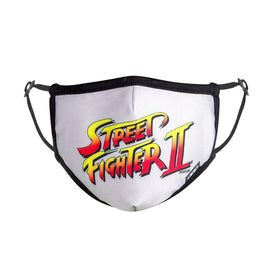 Street Fighter Logo Funny Video Games Unisex Novelty Crew Face Mask