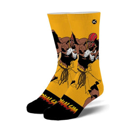 Street Fighter 2 Dhalsim Funny Video Games Unisex Novelty Crew Socks