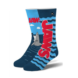 Jaws Open Wide Funny Sea Life Unisex Novelty Crew Socks