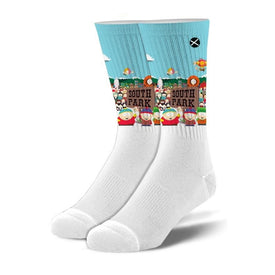 South Park Funny Pop Culture Unisex Novelty Crew Socks