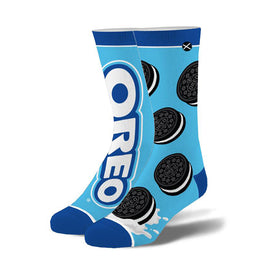 Oreo Cookies Funny Junk Food Unisex Novelty Crew Socks