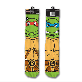 Teenage Mutant Ninja Turtles Retro Funny Movies & TV Unisex Novelty Crew Socks
