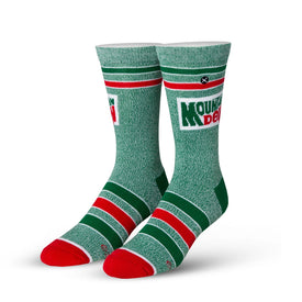 Mountain Dew Funny Junk Food Unisex Novelty Crew Socks