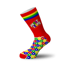 Froot Loops Funny Food & Drink Unisex Novelty Crew Socks