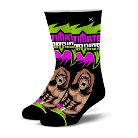 From Parts Unknown Funny Wrestling Unisex Novelty Crew Socks