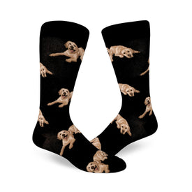 Labradorable Funny Pets Mens Novelty Crew Socks
