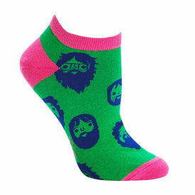 Beards Funny Funky Womens Novelty Ankle Socks