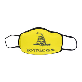 Don't Tread On Me Funny Words Unisex Novelty Crew Face Mask