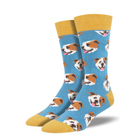 Incredibull Funny Pets Mens Novelty Crew Socks