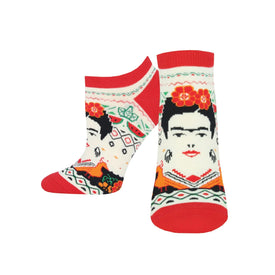 Frida Summer Funny People Womens Novelty Ankle Socks