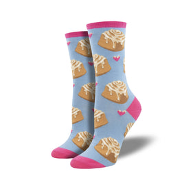 Lovely Buns Funny Junk Food Womens Novelty Crew Socks