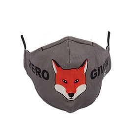 Zero Fox Given Funny Wildlife Unisex Novelty Crew Face Mask