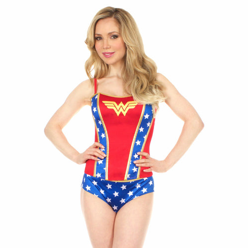 Wonder Woman Logo Corset with Panties