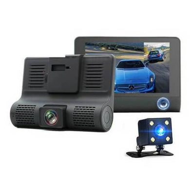 3-Way DVR Dashcam