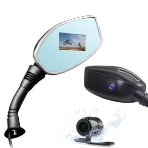 Motorcycle Side Mirror Camera