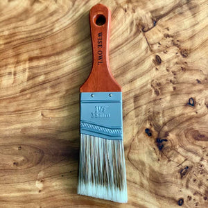 "1.5"" Micro Brush Flat/Angle- Wise Owl Premium Brush"