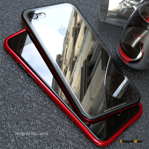 iPhone 6, 7, 8 Luxury Double Glass 2nd Edition Magnetic Glass Case