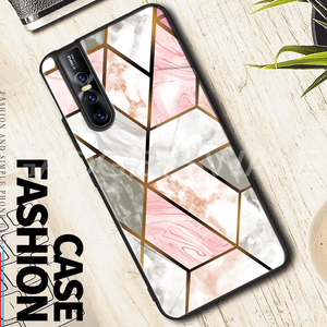 Vivo V15 & V15 Pro Cosmo Marble Pattern Glass Case