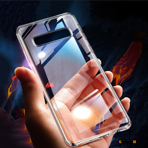 Galaxy S10/ S10 Plus Baseus Shockproof Transparent Silicone Case