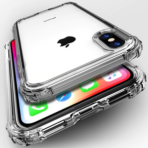 iPhone XS Luxury Transparent Shockproof Bumper Case