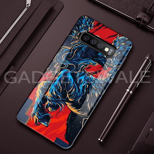 Galaxy S10/ S10 Plus Horse - Universal Symbol of Freedom Pattern Glass Case