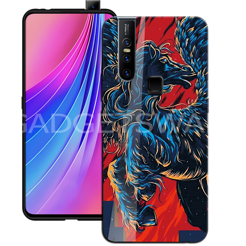 Oppo F11 Pro Horse - Universal Symbol of Freedom Pattern Glass Case