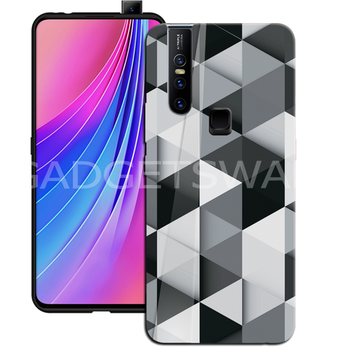 Oppo F11 Pro Ashford Color Marble Pattern Glass Case