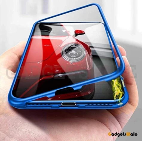 Samsung Galaxy A30 Tempered Glass Magnetic Adsorption Case