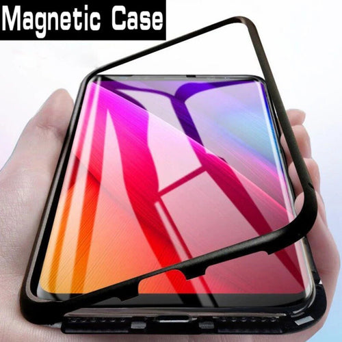 Electronic Auto-Fit Magnetic Case for OnePlus 7T