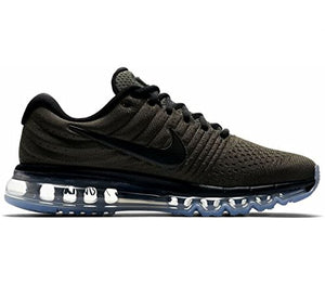 Nike Mens Air Max 2017 Running Shoes (Cargo Kahki/Black)