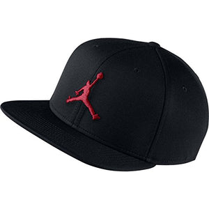 NIKE Jordan Jumpman Snapback Black Gym Red