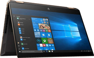 "HP Spectre x360 2019 Model 15.6"" 2-in-1 4K UHD IPS Touchscreen Laptop/Tablet, Intel 4-Core i7-8565U 16GB DDR4 1TB PCIe SSD 2GB MX150 BT 5.0 Backlit Keyboard Fingerprint Reader Thunderbolt Win 10"