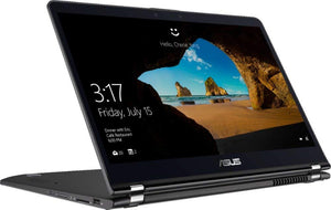 "ASUS 2-in-1 2019 Flagship 15.6"" Full HD Touchscreen Laptop/Tablet, Intel Quad-Core i7-8550U 32GB DDR4 1TB PCIe SSD 2TB HDD BT 4.2 802.11ac Backlit Keyboard Fingerprint Reader Windows Ink Win 10"