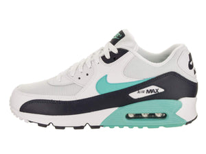 Nike Mens Air Max 90 Limited Edition Essential Running Shoes White/Aurora Green/Obsidian AJ1285-102