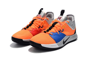 Nike PG 3 NASA Limited Edition Basketball Sneakers Orange/Black