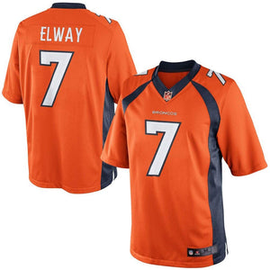 John Elway #7 Denver Broncos Retired Player Limited Orange Jersey
