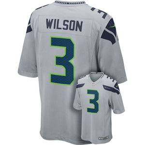 Nike NFL Men's Russell Wilson Seattle Seahawks Jersey - Grey