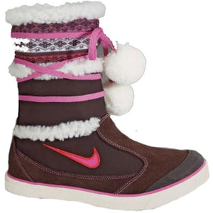 Nike Girls Ellie Demi Boot Brown/Pink