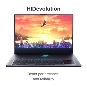"HIDevolution ASUS ROG Zephyrus S GX701GX 17.3"" FHD 144Hz Gaming Laptop 